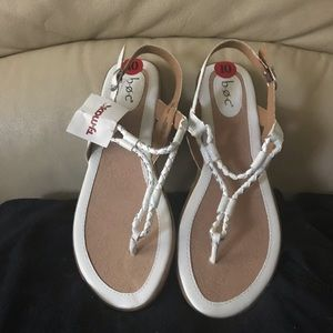 Sexy white sandals by Born